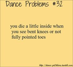 It drives me insane watching non-dancers work out because this always happens!!!
