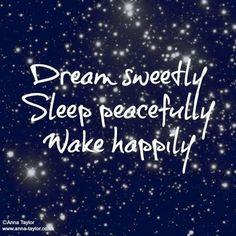 Good night babe