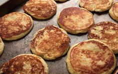 A recipe for fluffy, ricotta-lemon-flavored pancakes. Like others have said, simplify and use both the zest AND juice of one lemon.
