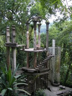 Las Pozas, garden of Edward James - xilitla, San Luis Potosí - Would like to . - Las Pozas, garden of Edward James – xilitla, San Luis Potosí – Would like to visit xilitla aga - Beautiful Architecture, Beautiful Landscapes, Places To Travel, Places To Go, Nature Aesthetic, Fantasy Landscape, Abandoned Places, Beautiful Places, Scenery