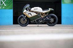DUCATI 900SS Cafe Racer DISTINTO - Photo by Raf Leuris (@rafleuris) #motorcycles #caferacer #motos | caferacerpasion.com