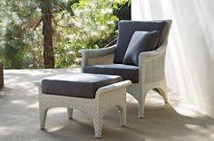 Regent Armchair & Ottoman   Gloster Furniture
