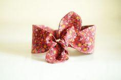 Cherry blossom headband, 100% handmade in Romania by Ambrette