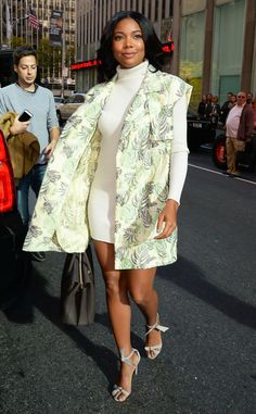 Gabrielle Union from The Big Picture: Today's Hot Pics The Being Mary Jane star looks sensational in New York City.