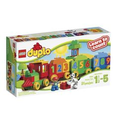 Lego Duplo Counting and Patterning Cards - Mom Inspired Life