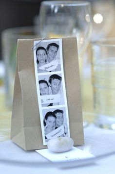 "wedding favors - ""Plant one on us"""