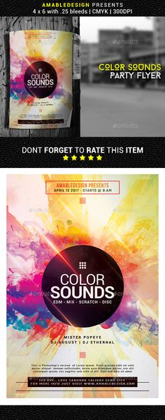 Buy Color Sounds Flyer by amabledesign on GraphicRiver. Description This flyer is suitable for Church Sermons. Details with bleeds CMYK 300 DPI Ready to Print FON. Church Sermon, Event Flyer Templates, Print Fonts, Music Party, Party Flyer, Print Templates, Print Design, Social Media, Icons