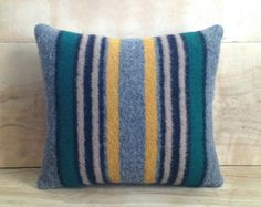 Wool Throw Pillow, 12x14. 38.00, via Etsy.
