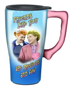 Love this I Love Lucy 'Friends Like You' 14-Oz. Travel Mug by I Love Lucy on #zulily! #zulilyfinds