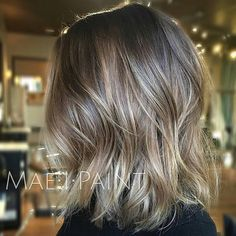 """Chestnut Balayage... by @maeipaint using @wellahair #wellalife #balayage #behindthechair"""
