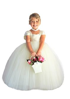 Ivory Flower Girl Dress for Wedding Girls Birthday Tutu Dress (L (5-6 yrs)) Heart to Heart http://www.amazon.com/dp/B00J5PPFSS/ref=cm_sw_r_pi_dp_rVurub0PZFR8N