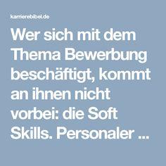 Wer sich mit dem Thema Bewerbung beschäftigt, kommt an ihnen nicht vorbei: die Soft Skills. Personaler setzen harte Fakten, sogenannte Muss-Qualifikationen (oder hard skills) bei allen Kandidaten voraus. Den Unterschied macht am Ende aber meist …