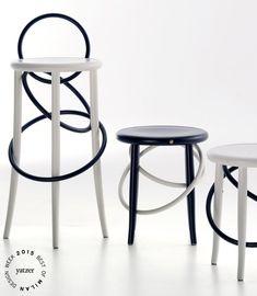 BEST OF MILAN DESIGN WEEK 2015 | The Cirque family of stools by Martino Gamper for Gebrüder Thonet Vienna GmbH. | Yatzer