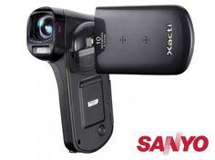 Vídeo Cámara Dual Compacta Sanyo Xacti Full HD #Gadgets #Cámaras