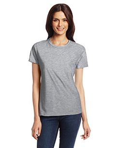 90% Cotton, 10% Polyester; Imported Machine Wash Short-sleeve classic tee featuring ribbed crew neckline Pre-shrunk for fit 4.5-ounce ring-spun cotton  Product description  This hanes nano-t t-shirt for women is so light and soft you'll fall in love with it. Ultra-light 100 percent ring-spun cotton jersey feels great on your skin and drapes beautifully
