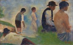 Georges Seurat | Study for 'Bathers at Asnières' | NG6561 | The National Gallery, London