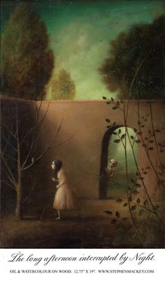 Stephen Mackey: The long afternoon interrupted by Night.