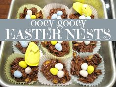 Toddler Approved!: Ooey Gooey Easter Nests