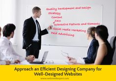 For a #strong #online #presence, a great #website is #very #essential. Learn from this blog @ http://www.webmediaxpert.com/get-well-designed-websites-from-efficient-professionals/ how a #professional #company can help.