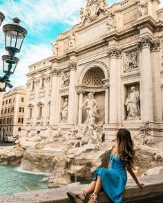 This is what dreams are made of — Trevi Fountain, Lizzie Mcguire, Instagram Outfits, Louvre, Lifestyle, Street, Shots, City, Dreams