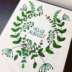 45 Fabulous August Bullet Journal Monthly Cover Page Ideas - Bliss Degree Bullet Journal Quotes, Bullet Journal Tracker, Bullet Journal Ideas Pages, Bullet Journal Inspiration, Astronomy Signs, Bullet Journal Materials, August Bullet Journal Cover, August Flowers, Hello August