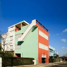 Le Corbusier houses at Pessac.
