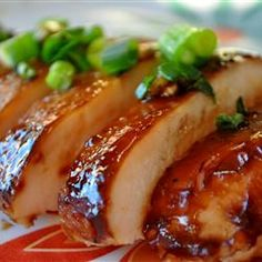 Baked Teriyaki Chicken - Maybe it's just because I'm craving protein but I keep pinning chicken recipes.