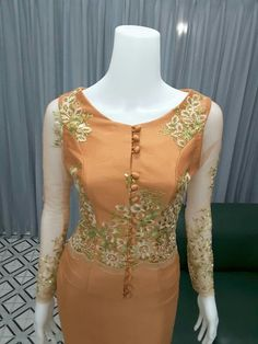 Myanmar Traditional Dress, Traditional Dresses, Master Online, Myanmar Dress Design, Peplum Dress, Dress Up, Blue Dresses, Summer Dresses, Kebaya