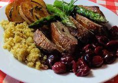 Sült kacsamell filé Entertainment Center Kitchen, Healthy Cat Treats, Hungarian Recipes, Cat Food, Home Remedies, Poultry, Quinoa, Dog Food Recipes, Paleo