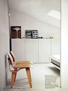 That clock! from Elle Decoration UK via stilinspiration.blogspot.com