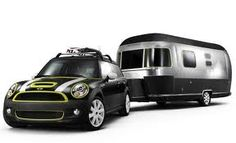 Mini with an Airstream!