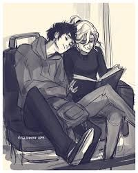 This is one of my favorite Percabeth drawings, it's amazing and perfect! Thanks for being awesome Viria :D