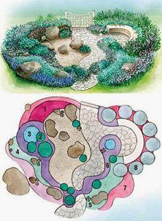 Райский сад: каменистый садик