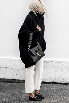 Monochrome Casual | @andwhatelse