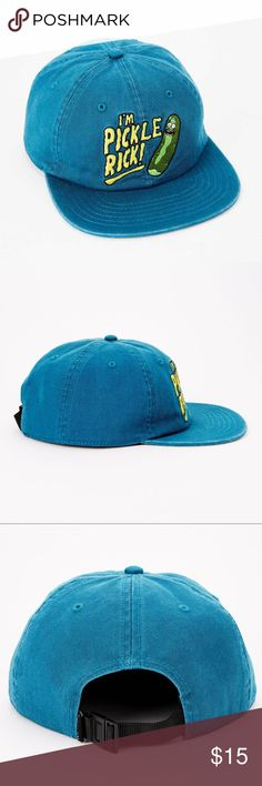 1f986e112c6 NWOT PATAGONIA Trucker Hat Light Blue Logo Front