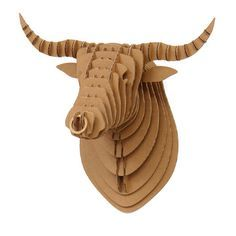 Image result for highland cow head cardboard