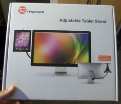 Review of the TaoTronics Desk or Bed Tablet Stand http://www.dragonblogger.com/review-taotronics-desk-bed-tablet-stand/