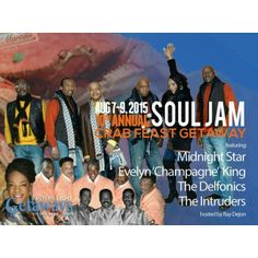 Good Day FB Community   You now have 30 days left to pay for the Soul Jam Crab Feast Concert Weekend Getaway.  The last day to get your full payment in is July 3rd 2015.  Many of you have expressed interest in this event via the event pages.  I am not holding any seats for anyone.  First Come First Serve.  If you have any questions feel free to call or email at eula@griotsrollproduction.com or 212-281-2286.  Payment options below.  Soul Jam Crab Feast Concert Getaway - August 7 - 9, 2015…