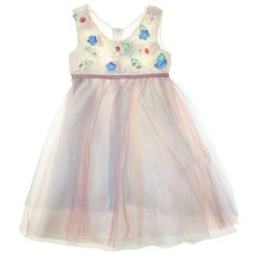 Soutache Dress with Pleated Skirt (2T-4T) 711314578