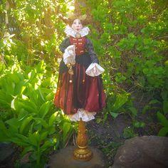 Art Doll - Fantasy Doll - Porcelain Doll - Artistic Doll  - Masquerade - Doll - Fantasy Doll - Fantasy - Old Fashioned - Fine Art Doll - by Rustiikkitupa on Etsy