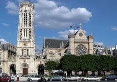 Eglise de Saint-Germain l'Auxerrois Paris 1er arrondissement, France / Church of Saint-Germain l'Auxerrois Paris first district, France