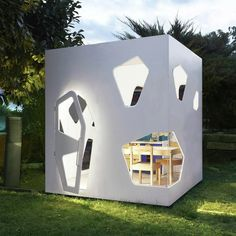 These Children's Playhouses Mimic Contemporary Japanese Architecture