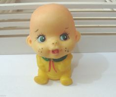 Vintage PRETTY SOFT SILICONE BABY DOLL TOY FROM 1970 ' s