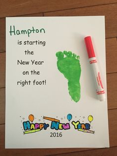 New Year activity for preschoolers. New Years Craft Preschool Projects, Daycare Crafts, Classroom Crafts, Preschool Activities, New Year's Eve Crafts, New Year's Crafts, Baby Crafts, New Year's Eve Activities, Toddler Activities