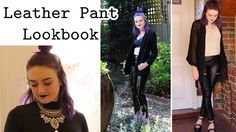 How to Style Leather Pants