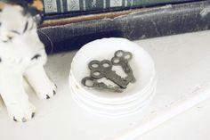 Set of Three Vintage Metal Keys Altered Art by blondiensc on Etsy, $5.00