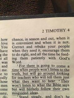 2 Timothy 4:4