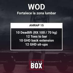 #WOD PARA FORTALECER LA ZONA LUMBAR #crossfit #entrenamiento