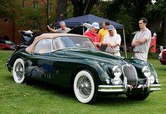 Jaguar. British Racing Green. Stunning. Need we say more?