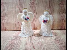 LINDO ANGEL DECORATIVO - YouTube Christmas Decorations, Christmas Ornaments, Holiday Decor, Crochet Angels, Christmas Crochet Patterns, Quilling, Elsa, Make It Yourself, Embroidery